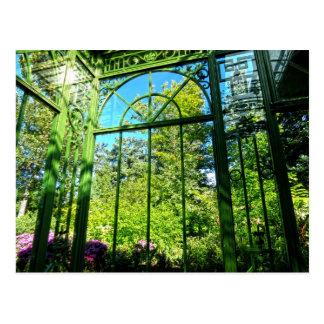 Garden Window Solarium Postcard