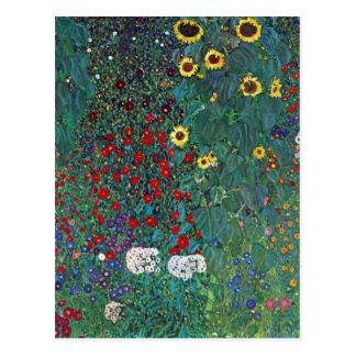 Garden with Crucifix 2 by Gustav Klimt Postcard