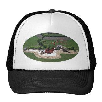 Garden with Dolphins Trucker Hat