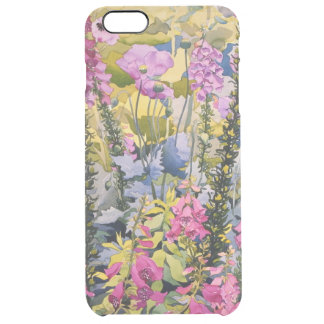 Garden with Foxgloves Clear iPhone 6 Plus Case