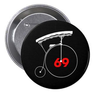 Gardener 69 3 inch round button