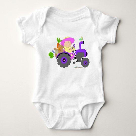 Gardener Farmer baby girl Baby Bodysuit