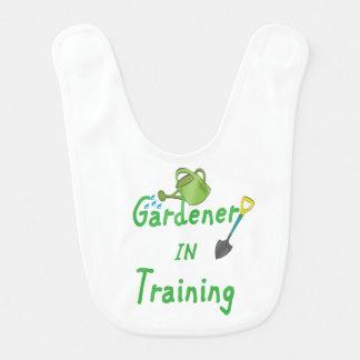 Gardener In Training Bib