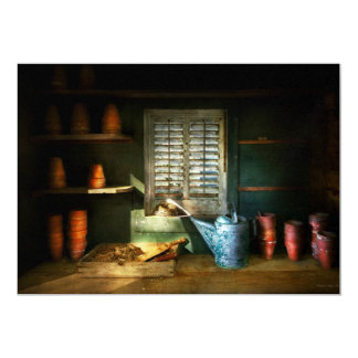 Gardener - The potters shed Card