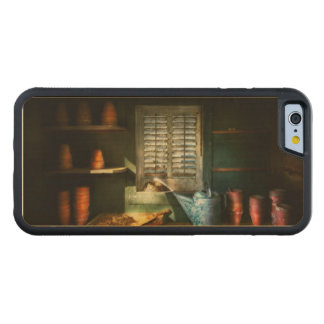 Gardener - The potters shed Carved Maple iPhone 6 Bumper Case