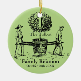 Gardeners Family Reunion R Ornament custom Name
