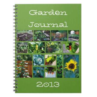 Gardener's Journal notebook