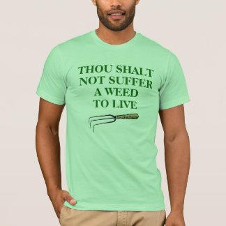 Gardener's T-shirt, unisex mint green T-Shirt