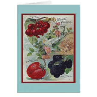 gardeners vintage greeting card