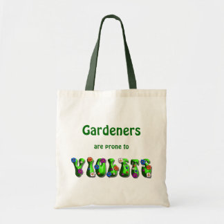 Gardeners & Violets - Budget Tote