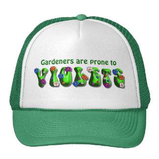 Gardeners & Violets - Hat #1