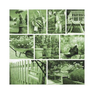 Gardener's world canvas print