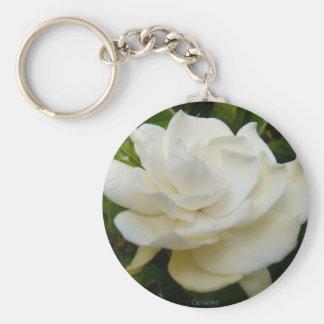 """Gardenia Pure"" Keychain"