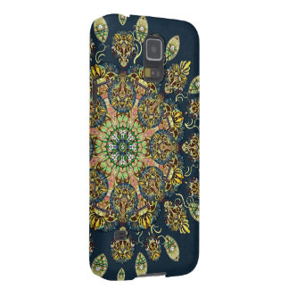 Gardenia Window Mandala Phone Case