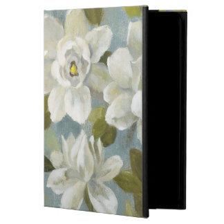 Gardenias on Slate Blue iPad Air Cover