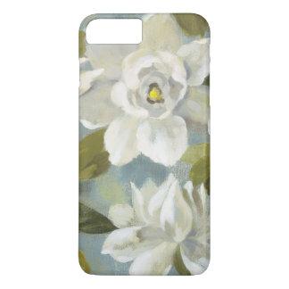 Gardenias on Slate Blue iPhone 8 Plus/7 Plus Case