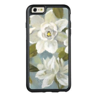Gardenias on Slate Blue OtterBox iPhone 6/6s Plus Case