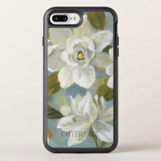 Gardenias on Slate Blue OtterBox Symmetry iPhone 8 Plus/7 Plus Case
