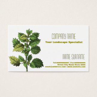 Gardening and hedge cutting business card
