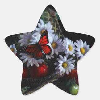 Gardening Bench Star Sticker