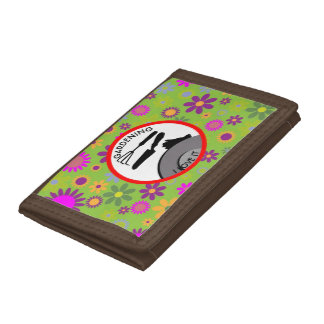 Gardening Flowers and Dreams Trifold Wallets