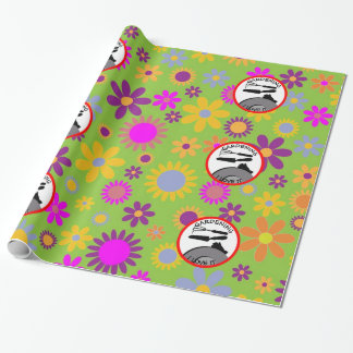 Gardening Flowers and Dreams Wrapping Paper