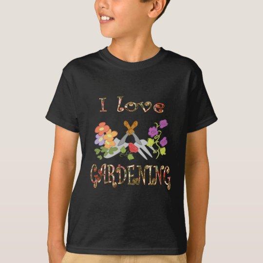 Gardening Love T-Shirt