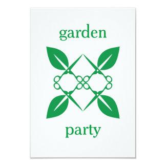 Gardening pattern card