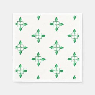 Gardening pattern disposable napkins