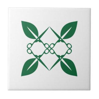 Gardening pattern tile