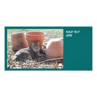 Gardening Photo Card