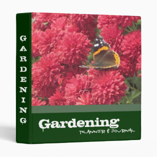 Gardening Planner and Journal Binder