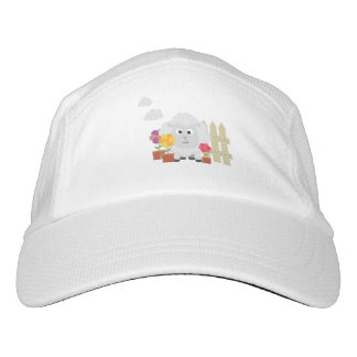 Gardening Sheep with flowers Z67e8 Hat
