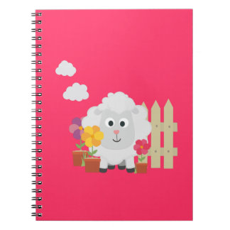 Gardening Sheep with flowers Z67e8 Notebook
