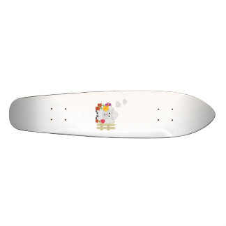 Gardening Sheep with flowers Z67e8 Skate Deck