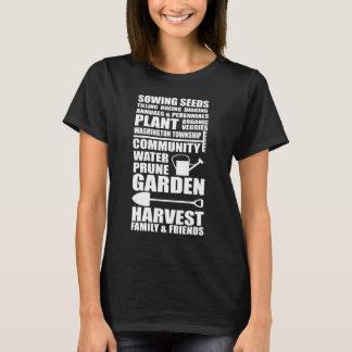 Gardening Sowing Seeds Tilling Community Garden T-Shirt