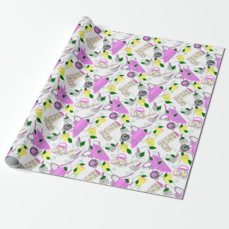 Gardening themed wrapping paper