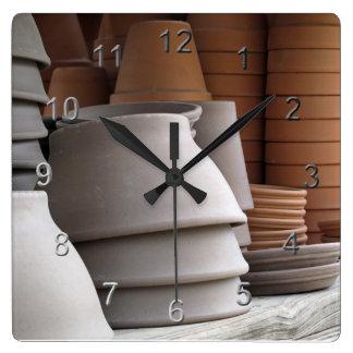 Gardening Time Wall Clocks