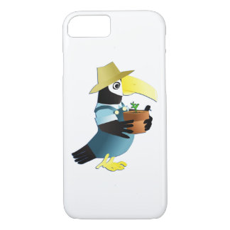 Gardening Toucan Bird iPhone 8/7 Case