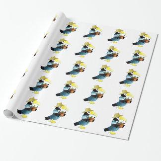 Gardening Toucan Bird Wrapping Paper