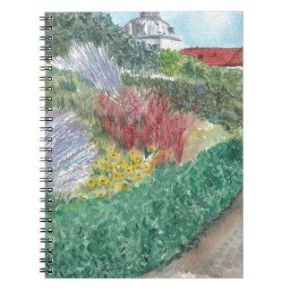 Gardens at Schloss Köpenick Notebooks