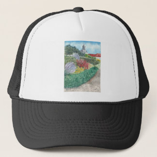 Gardens at Schloss Köpenick Trucker Hat