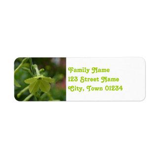 Gardens at Strawberry Banke Return Address Label