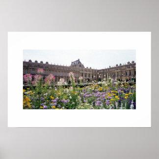 Gardens at Versailles Poster