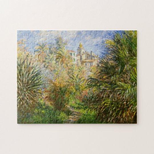 Gardens Villa Moreno Bordighera Monet Fine Art Jigsaw Puzzle