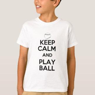 Gardez la boule de calme et de jeu tshirt