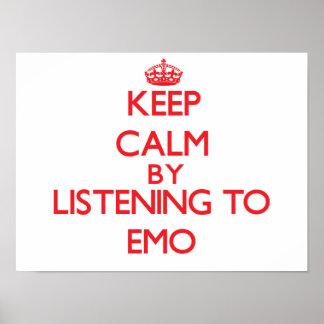 Gardez le calme en écoutant EMO