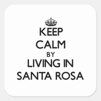 Gardez le calme en habitant à Santa Rosa