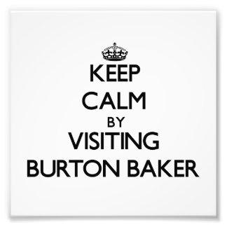 Gardez le calme en rendant visite à Baker le Massa