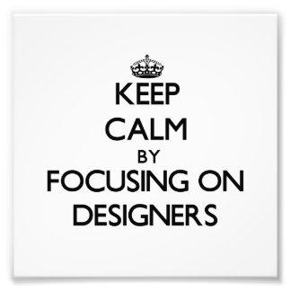 Gardez le calme en se concentrant sur des concepte